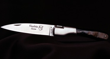 Classic Vendetta Zuria Corsican knife in Buffalo Horn