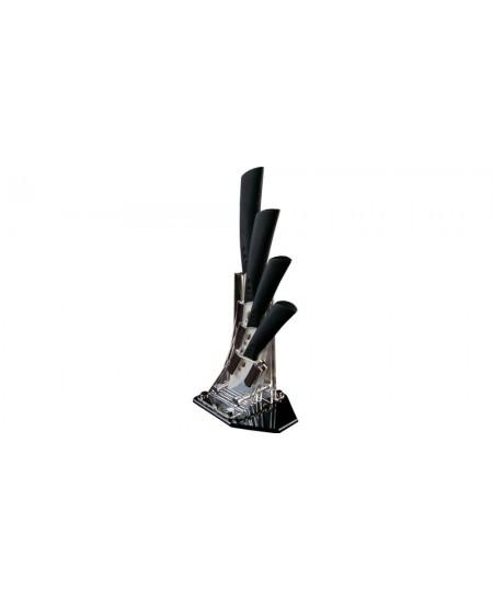 Bloc + 4 couteaux Temp'Cera White