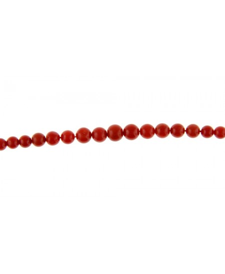 Collier Perles Corail T50