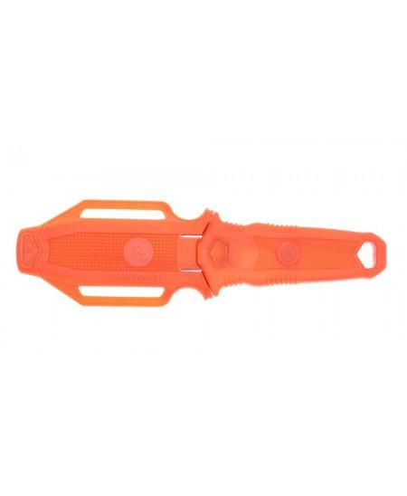 Couteau de plongée en ABS Orange