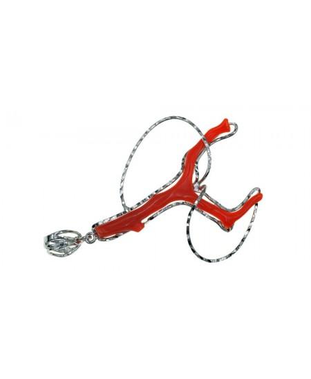 Pendentif Branche Corail, Argent