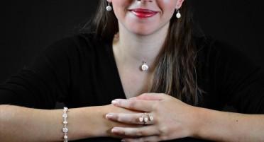 Parure bijoux avec l'œil de Shiva et en Argent