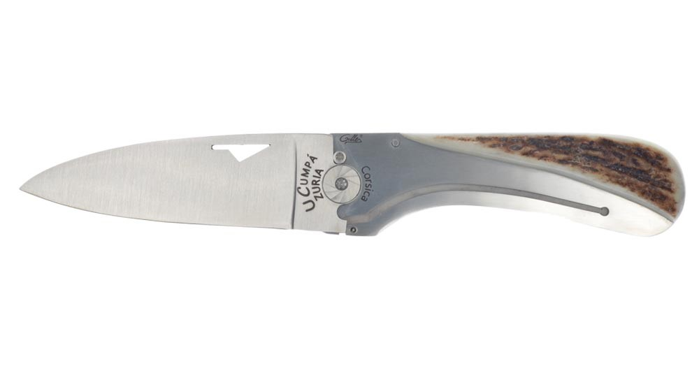 Corsican knife U Cumpa with antler handle