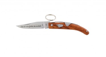 Couteau Corse à anneau 16.5 cm - manche en Arbousier