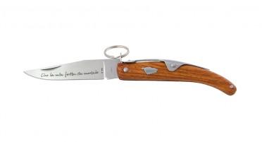 Couteau Corse à anneau 20 cm - manche en Arbousier