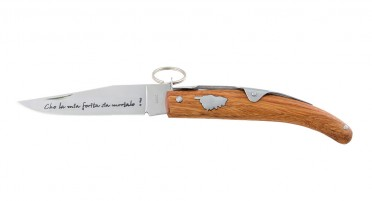 Ring knife - Arbutus handle