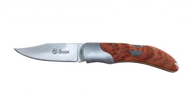 Couteau pliant Corsica - manche en Arbousier et mitre - petit modèle