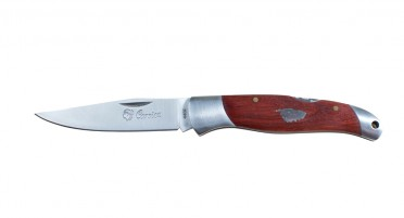 Corsica folding knife - Arbutus handle with double miter - small size