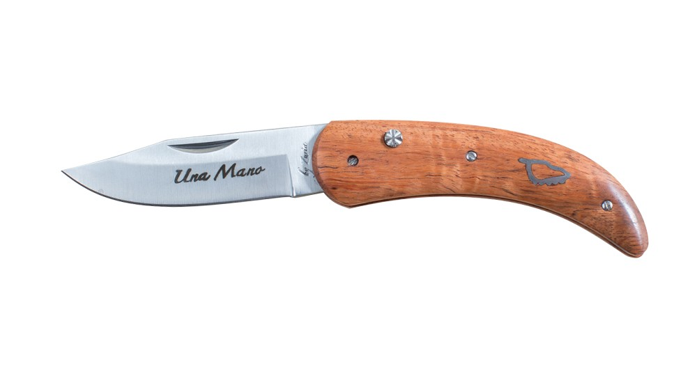 Una Mano knife by Zuria in Arbutus - model 17 cm