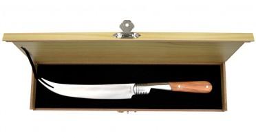 Couteau à fromage avec manche en bois d'Olivier