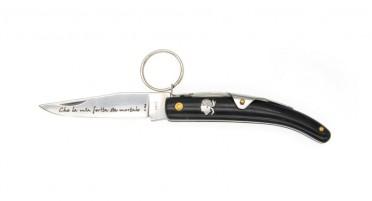 Couteau à anneau avec manche en Corne de buffle