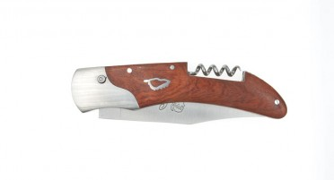 Corsica Arbutus knife with corkscrew and Push button system