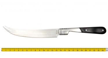 Couteau à fromage avec manche en bois de Noyer