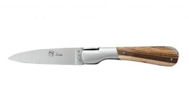 Couteau pliant Le Pialincu en bois de pistachier
