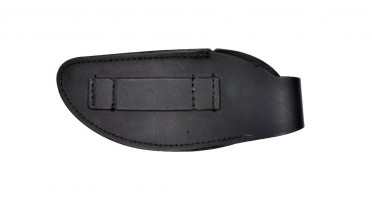 Belt pouch for folding knife