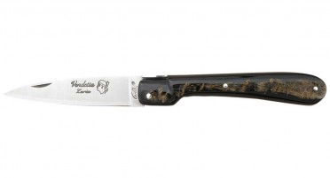 Vendetta Zuria Buffalo Horn Knife - Full Handle
