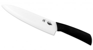 Knife with white ceramic blade 20 cm